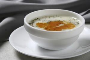 Erişteli Yaz Çorbası